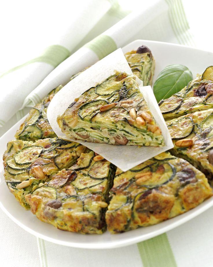 Frittata di zucchine e pinoli al forno : Scopri come preparare questa deliziosa ricetta. Facile, gustosa e adatta ad ogni occasione. Questo secondo ha un tempo di preparazione di 30 minuti.