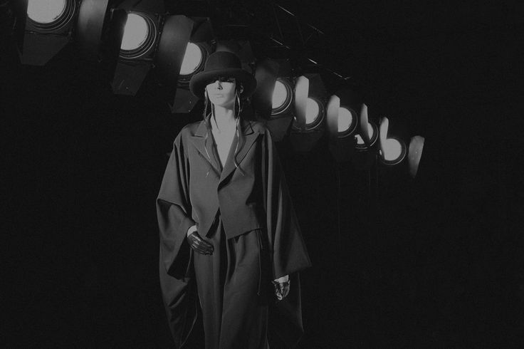 Yohji Yamamoto F/W 2015-16  Federica Fioravanti for Grey Magazine  Kimono jacket available at ivomilan.com:  http://www.ivomilan.com/it/product/yohji-yamamoto-24105.htm