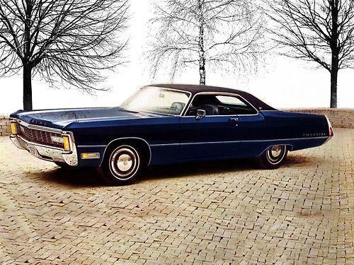 1971 Imperial LeBaron Hardtop.