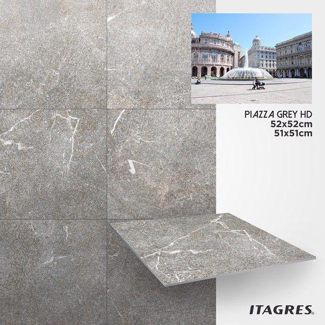 Como o próprio nome já diz, Piazza Grey HD foi inspirado nas praças italianas, que são pontos históricos e turísticos no país. Suas cores e texturas transformam qualquer ambiente em um lugar muito mais atraente. Perfeito para áreas externas e garagens.