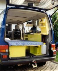 Hallo,  Ich spiele mit dem Gedanken mir einen VW bus zuzulegen, den ich dann als camping bus benutzen würde. Jetzt könnte ich natürlich gleich die camping version kaufen, was mich aber interessieren würde wäre , wie schwer bzw aufwendig ist es…