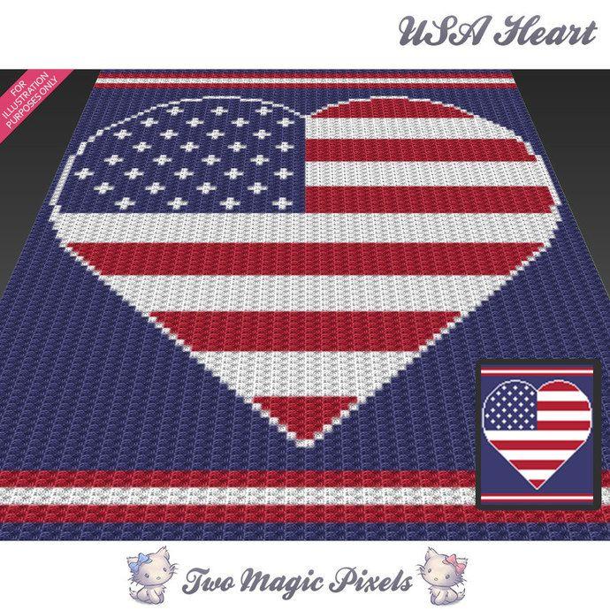 37 best Two Magic Pixels C2C crochet afghans images on Pinterest ...