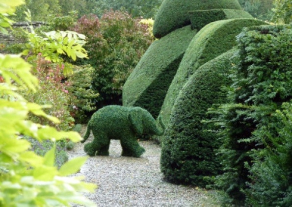 Levens Hall - inspiration for the garden at Stortford House