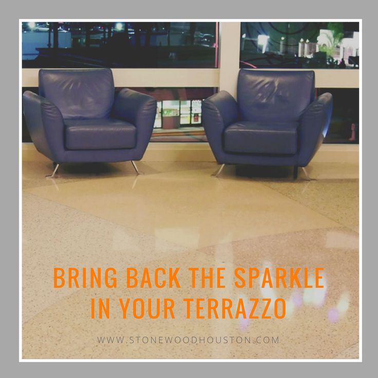 Do you own terrazzo floors? Consider yourself lucky. #Terrazzo #floors are eco-friendly and oh-so-easy-to-clean!  #Open the floor for questions! 713-306-8643  #Free #estimate ==> www.stonewoodhouston.com