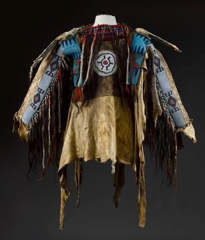 228 best beaded war shirts images on pinterest native for What crafts did the blackfoot tribe make