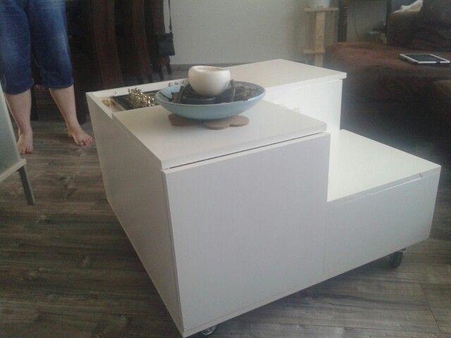 Salontafel eigen ontwerp
