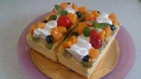 きらり!!旬のマンゴームースケーキ Mango Mousse Cream Cake