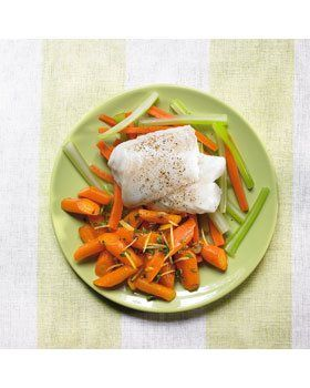 Italiaanse worteltjes met vispakketjes
