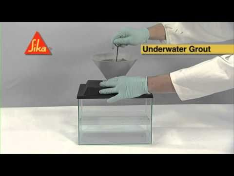Sika Underwater Concrete System Demo - Sika Limited - YouTube