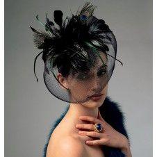 vintage haarstukken/hoedjes
