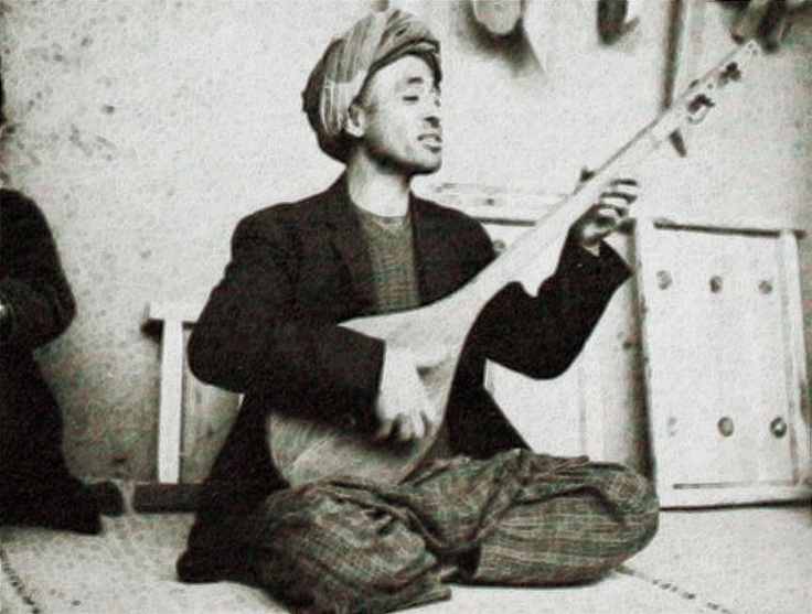 Dambura player :: Hazara people, Afghanistan
