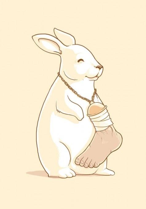 haahhhh: Laughing, Goodluck, Good Luck, Rabbit Foot, Human Foot, Funny Stuff, Lucky Human, Bunnies, Lucky Foot