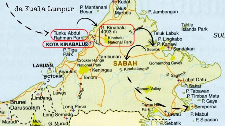 Mete da sogno: il Borneo Malese e Pom Pom Island