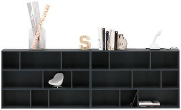 Built in concept for MASTeR BEDROOM ( under window)   Modern shelves, modern bookcases - Quality from BoConcept