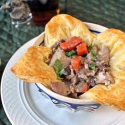 Pheasant Stew with Parsley Dumplings