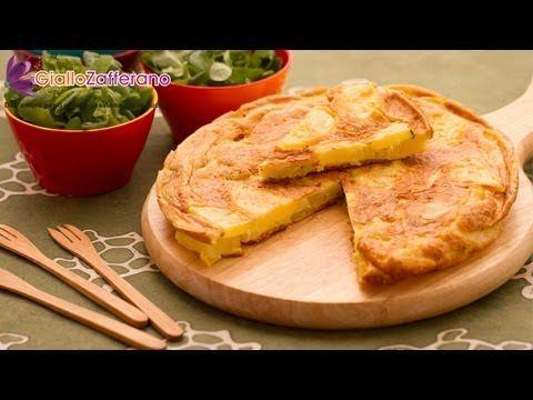 Potato omelette ( frittata di patate ) Italian recipe