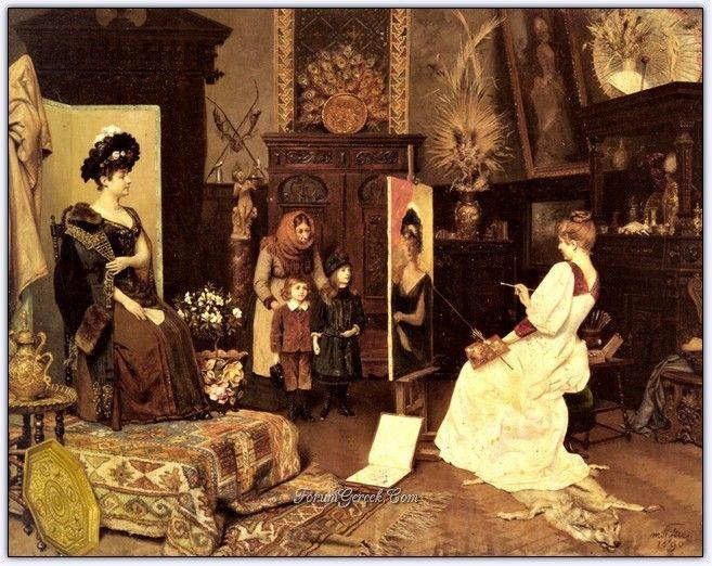 Moritz Stifter (1857 - 1905) | Avusturyalı Ressam - Forum Gerçek