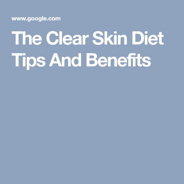 How To Get Clear Skin With Diet and Lifestyle
