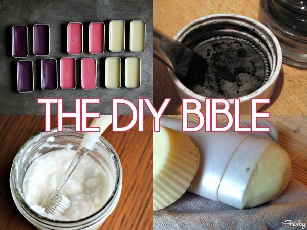 Awesome list for diy personal care products!