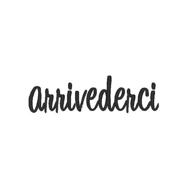 Arrivederci ~ goodby It was so very hard to do my heart is still broken