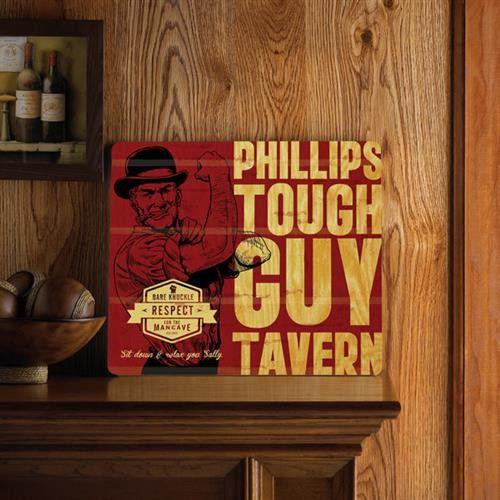 Wood Tavern and Bar Signs - Tough Guy