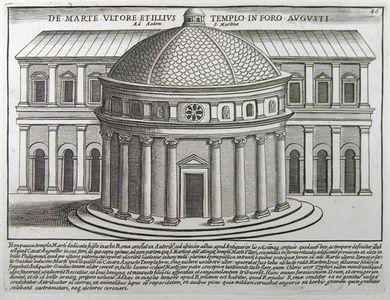 De Marte Ultore et Illius Templo in Foro Augusti ad Aedem S. Martinæ   Sanders of Oxford
