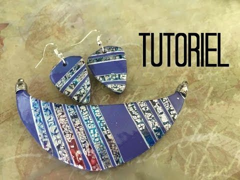 Tuto #50 - Encre pinata & feuille de metal - - YouTube