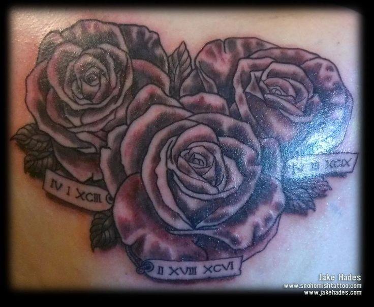 black and purple rose tattoo designs tag black and purple rose tattoo ...