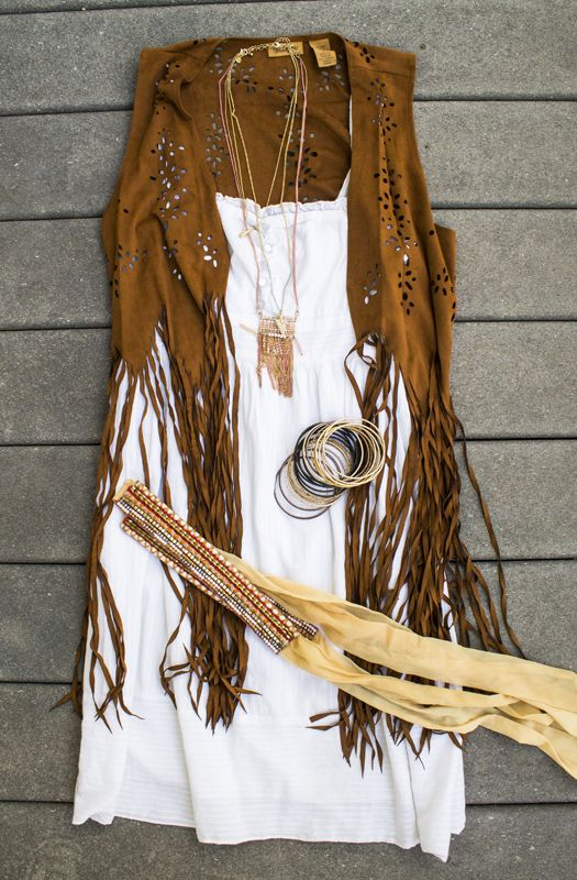 Country Hipster - Wrangler Fringe Vest from Boot Barn |http://countryhipster.com