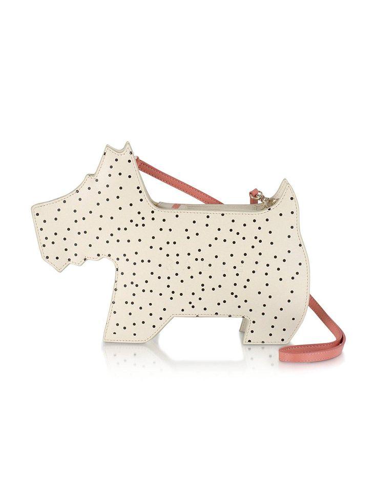 Radley Dog Shoulder Bag - Ivory The sweetest addition to ...