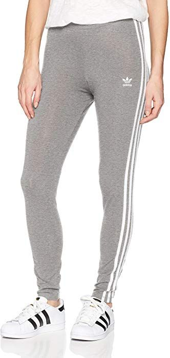 80b850b227ee0 adidas Originals Women's 3-Stripes Leggings, Black/Trefoil Stripe, X-Small  (US Size) (US Size) at Amazon Women's Clothing store: