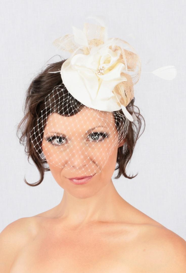 Custom Bridal Blusher  www.shiverzdesigns.com
