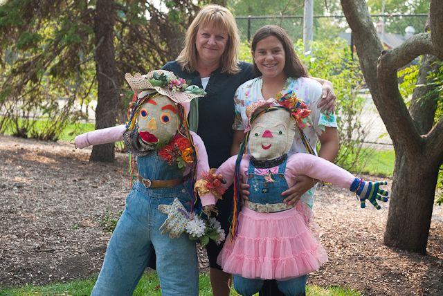 Best scarecrows at Elk Grove Village Pioneer Days