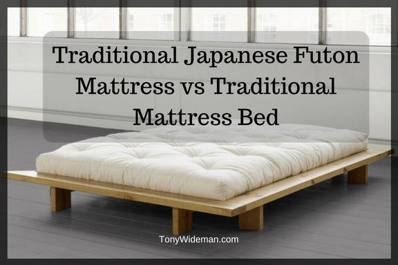 Traditional Japanese Futon Mattress Vs