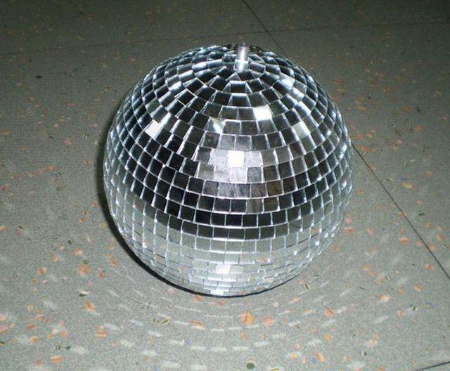 """15 см диаметр вращающихся зеркальный шар 6 """" диско DJ ну вечеринку освещение магазин коммерческий праздничные отражает висит диско светильники"""