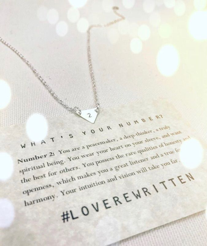 What's Your Number?   Discover Yours at http://loverewritten.bigcartel.com