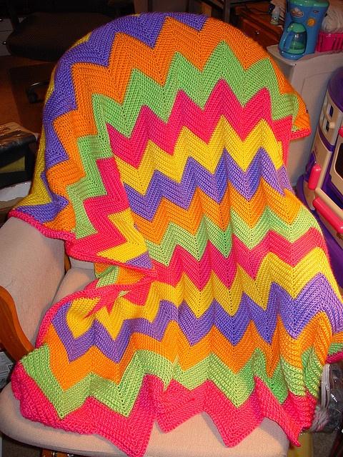 Perfect Chevron Crochet Afghan Pattern Http Www