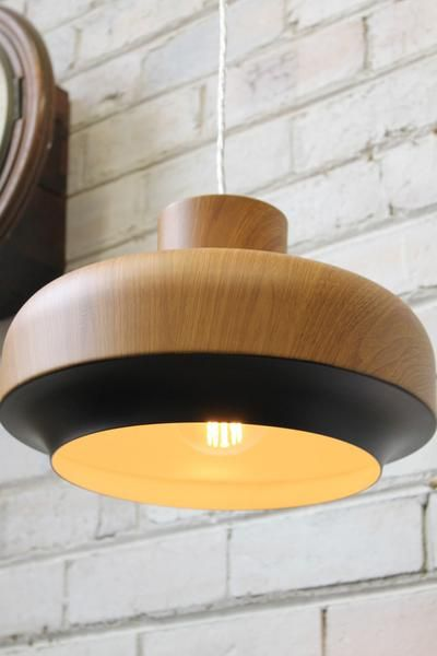 Copenhagen Nordic Pendant Light with edison bulb