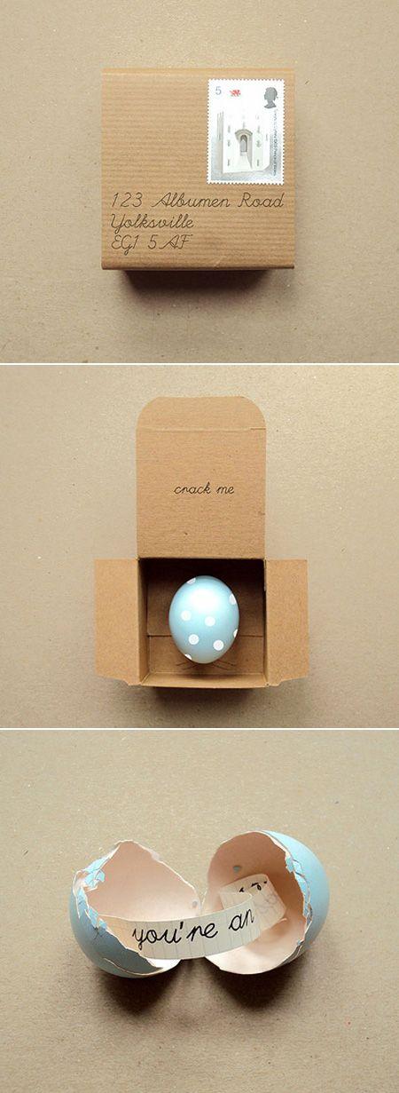 Mensaje en un huevo