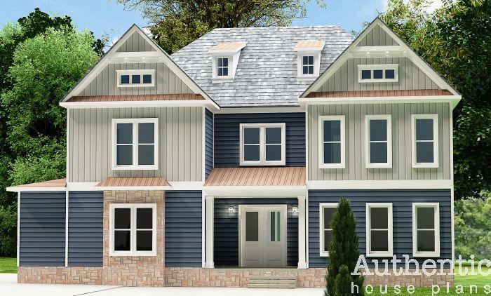 Seneca House Plan Craftsman House Plans House Plans Cottage House Plans
