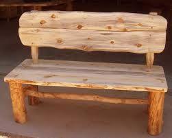 Resultado de imagen para banco de madera rustico