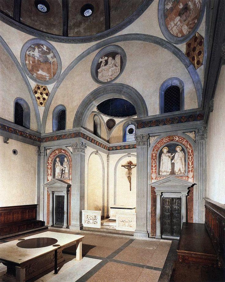 Stara Zakrystia przy San Lorenzo, od 1419