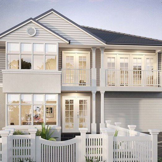 Introducing the stunning Camden with Signature facade. This gorgeous Hamptons inspired home is part of our new double storey collection.