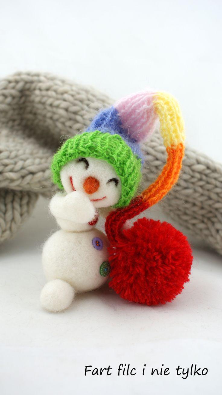 Snowman, Handmade in Poland