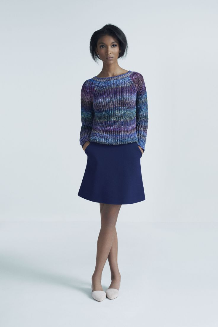 Moon Sweater and Baffin Skirt | Samuji Pre-Fall 2014 Collection