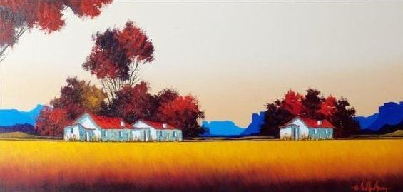 Artist Nic van Rensburg Artist