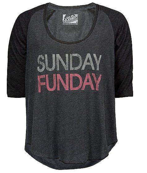I kinda want this...Fashion Clothing, Sunday Girls T-Shirt, Sunday T Shirts,  Tees Shirts, Celebrities Sunday, Married With Children, Sunday Funday, Lazy Sunday, Local Celebrities