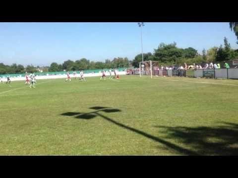 Kieffer Moore Goal, Yeovil Town 3-1 Poole Town - YouTube