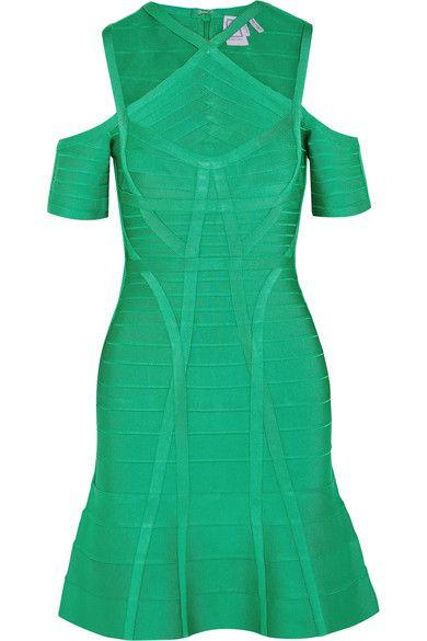 Hervé Léger | Cutout bandage dress | NET-A-PORTER.COM