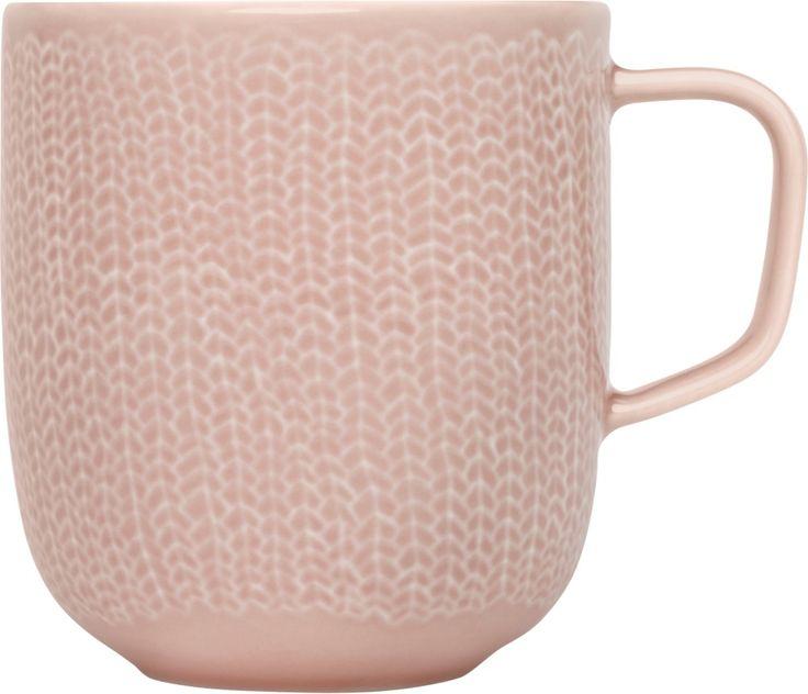 Iittala - Sarjaton Mug Letti 0,36 l old rose - Iittala.com
